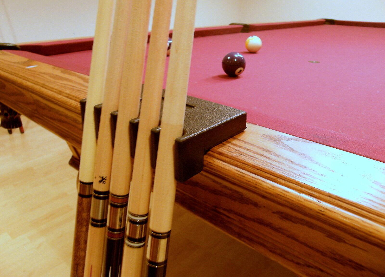 Iszy Billiards Portable 5 Pool Cue Stick Holder Stand Rest Black Ebay