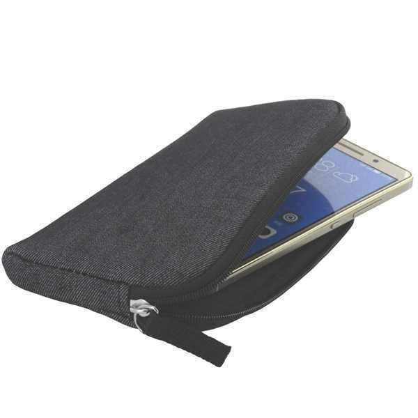 XiRRiX Soft Tasche Case Hülle mit Reißverschluss für Huawei P10