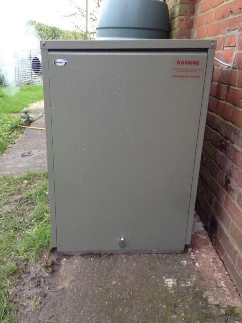 grant vortex pro external 21kw oil combi boiler supplied