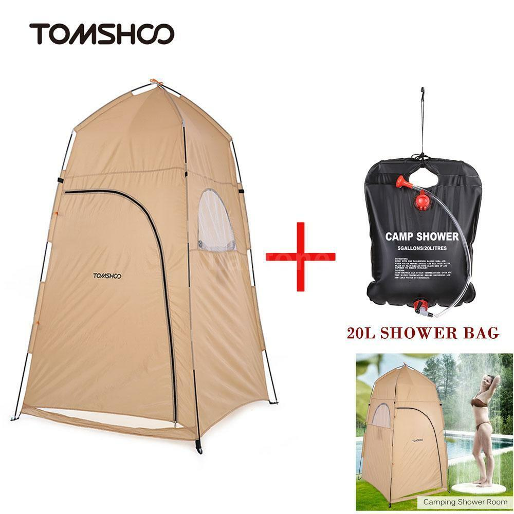 Outdoor Shower Bath Changing Room Tent Camp Toilet Shelter 20l ...
