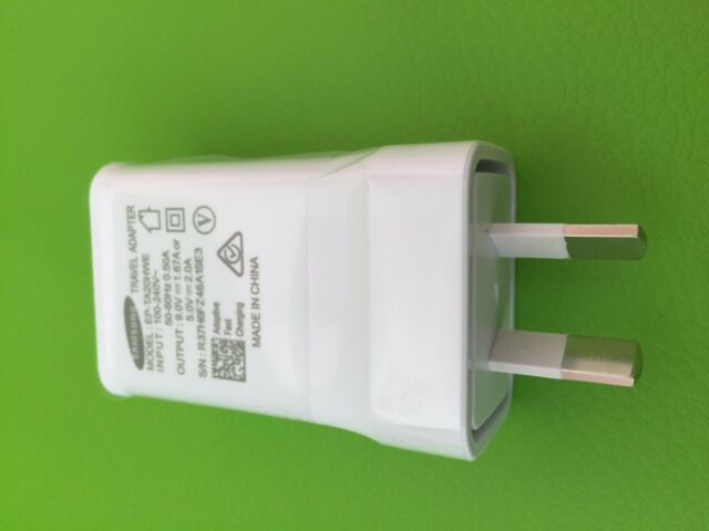 SAMSUNG GENUINE 5V 9V ADAPTIVE FAST AC WALL CHARGER CABLE S7 S6 Edge Note 4 5 7