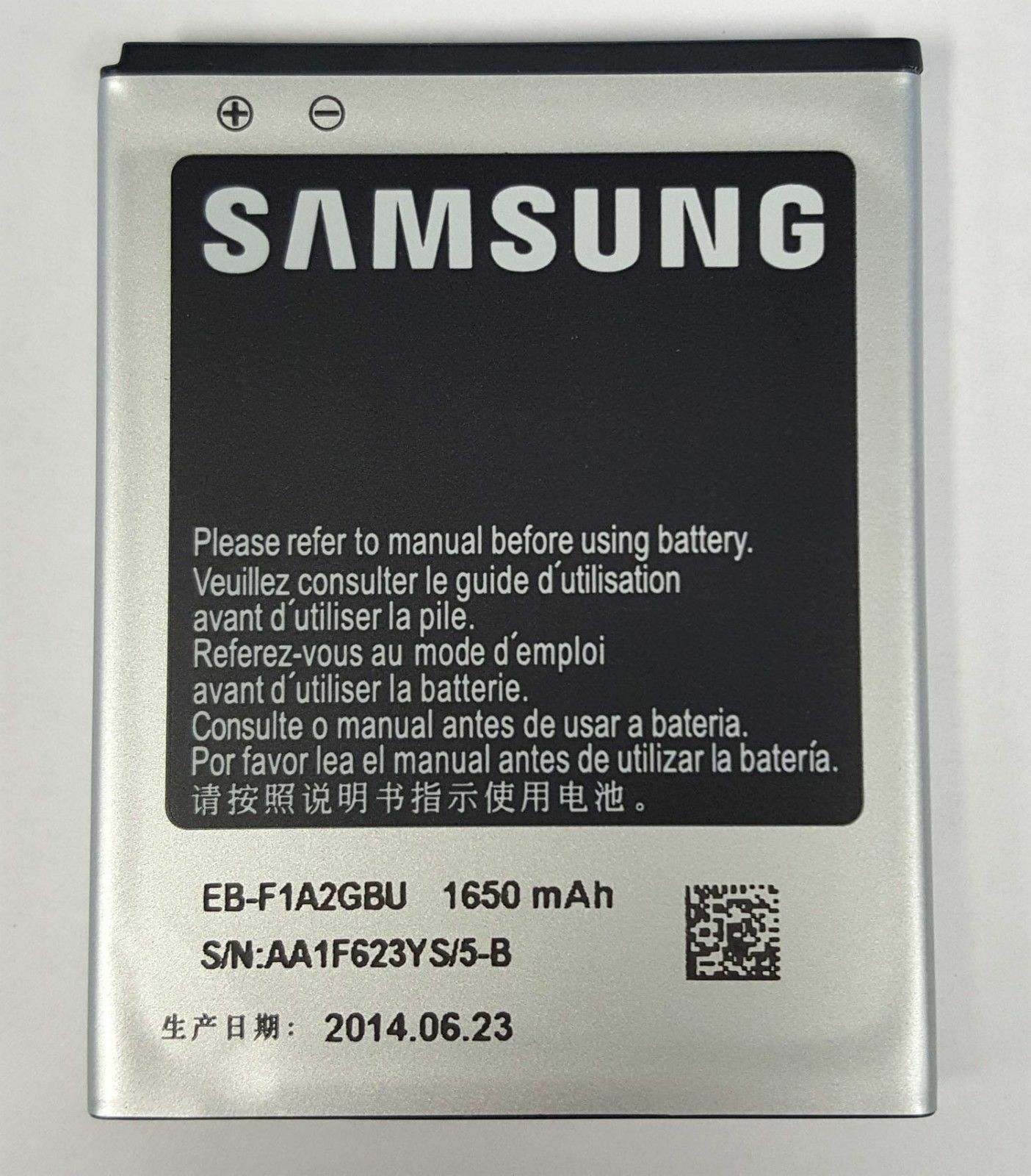 oem samsung eb f1a2gbu battery for galaxy s ii s2 sgh i777 gt i9100 rh ebay com Samsung Galaxy S3 Instruction Manual Samsung Galaxy Phone Owners Manual