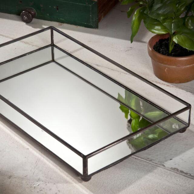 J Devlin TRA 108 Glass Jewelry Tray Vanity Organizer Dresser With