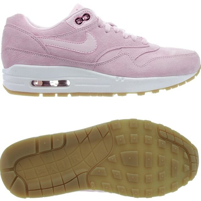 Nike Air Max 1 SD women's low-top sneakers pink suede casual shoes NEW