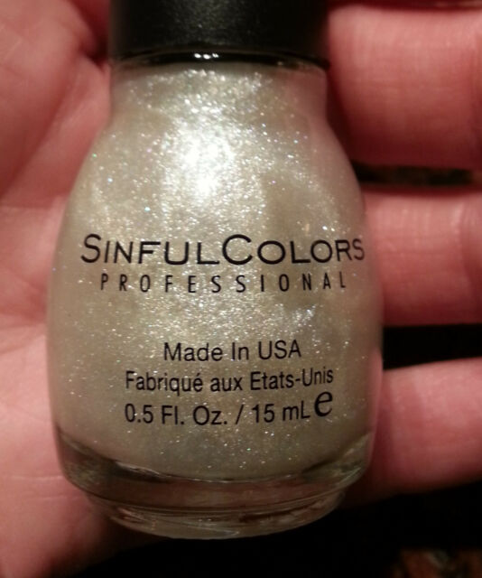 Sinful Colors Professional Nail Polish Limited Edition Bling It on ...