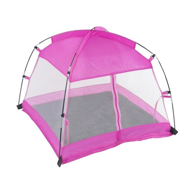 18 Inch Doll Accessories | Amazing Pink Dining Canopy C&ing Tent includes  sc 1 st  eBay & American Girl Dolls 18 Inch Doll Accessories Pink Dining Canopy ...