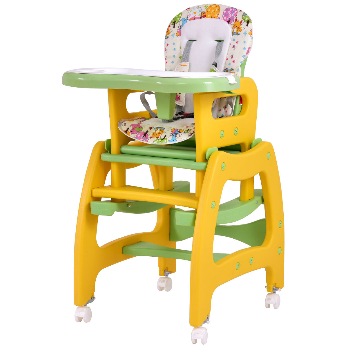 chair ebay. 3 in 1 baby high chair convertible play table seat booster toddler feeding tray ebay