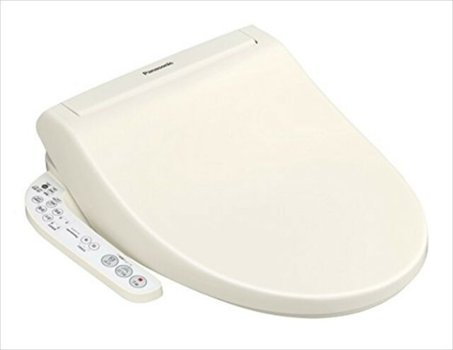 Panasonic automatic toilet seat warm water bidet pastel ivory dl ejx10 cp 100v ebay - Automatic bidet toilet seat ...