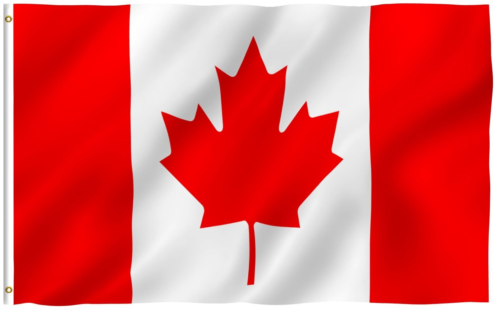 anley canadian flag canada national banner polyester 3x5 foot