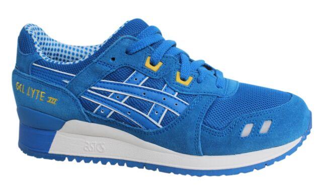 ASICS Gel lyte Iii con lacci blu di pelle Scarpe sportive uomo h40nq 4949 U117