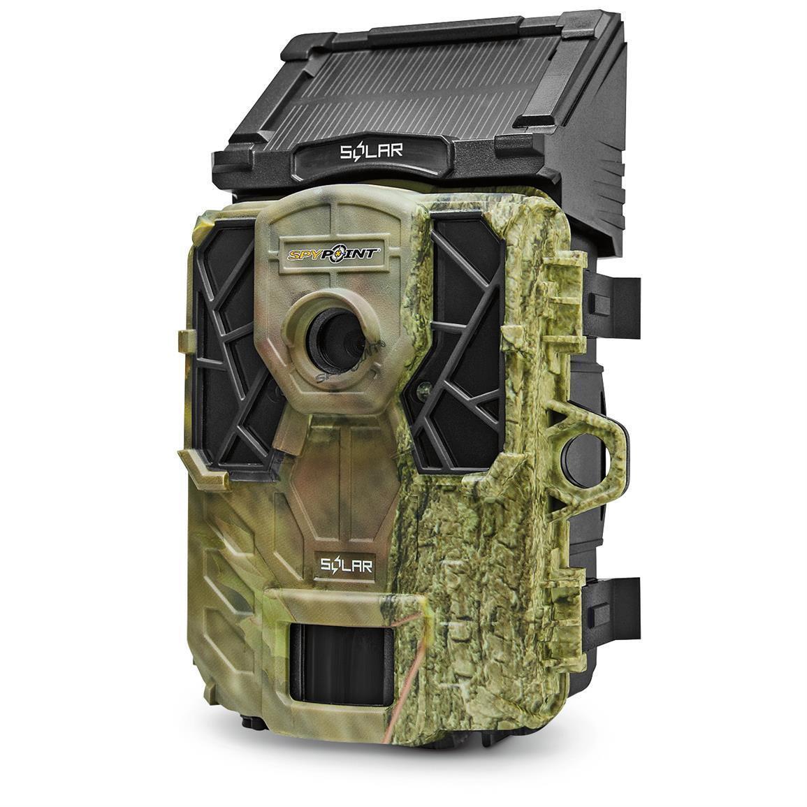 SpyPoint Solar Trail 12MP Camera - Camouflage | eBay