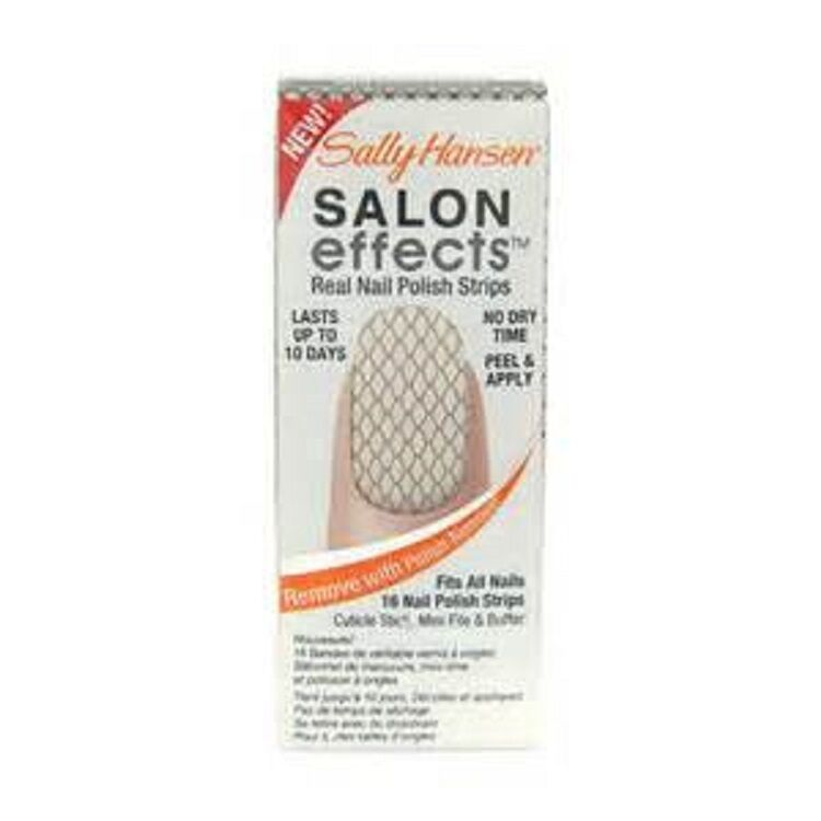 Sally Hansen Salon Effects Nail Stickers 350 Misbehaved | eBay