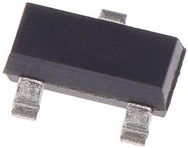 2 x Microchip MCP1541T-I/TT 4.096V Voltage Reference 1% 7V max. 3-Pin SOT-23