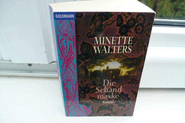 BUCH DIE SCHANDMASKE MINETTE WALTERS KRIMI THRILLER  ROMAN TASCHENBUCH BOOK !!!