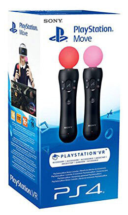 Playstation 4 PS4 Move Motion Controller Twin Pack (Playstation VR)