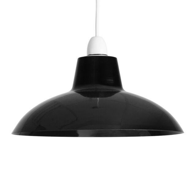 Old Fashioned Metal Lamp Shade: MiniSun Retro Vintage Metal Style Ceiling Pendant Light