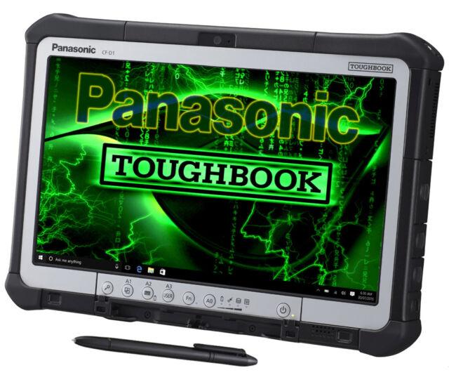 Panasonic Toughbook CF-D1 13,3 Zoll ★250 GB★ 4GB★ TOUCHSCREEN TABLETT★  Wid7