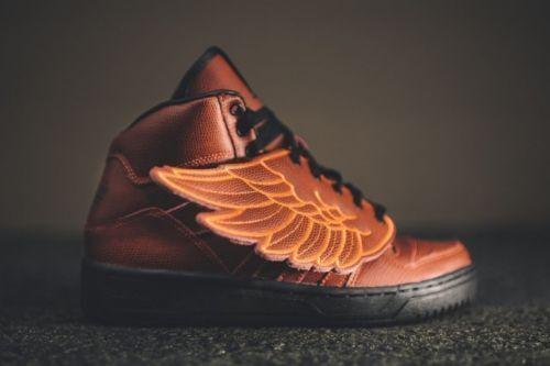 adidas JS X Jeremy Scott Wings Bball Basketball Red S77803 Sz Mens 6 Women  7 | eBay