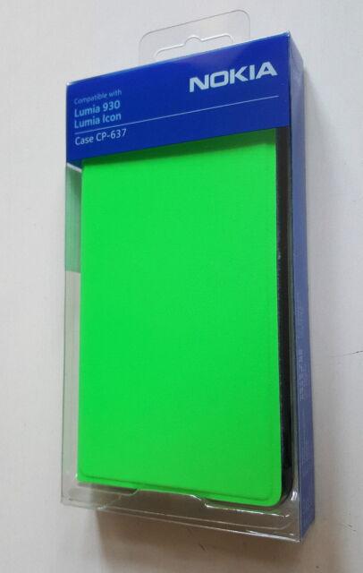 Genuine Nokia CP-637 Flip Case Cover for Lumia 930 - Green - Retail Boxed