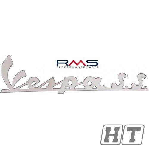 Emblem Logo Schriftzug Vespa SS 3 Pins Abst. 175mm für GL 150 50 FL 125 180 V R