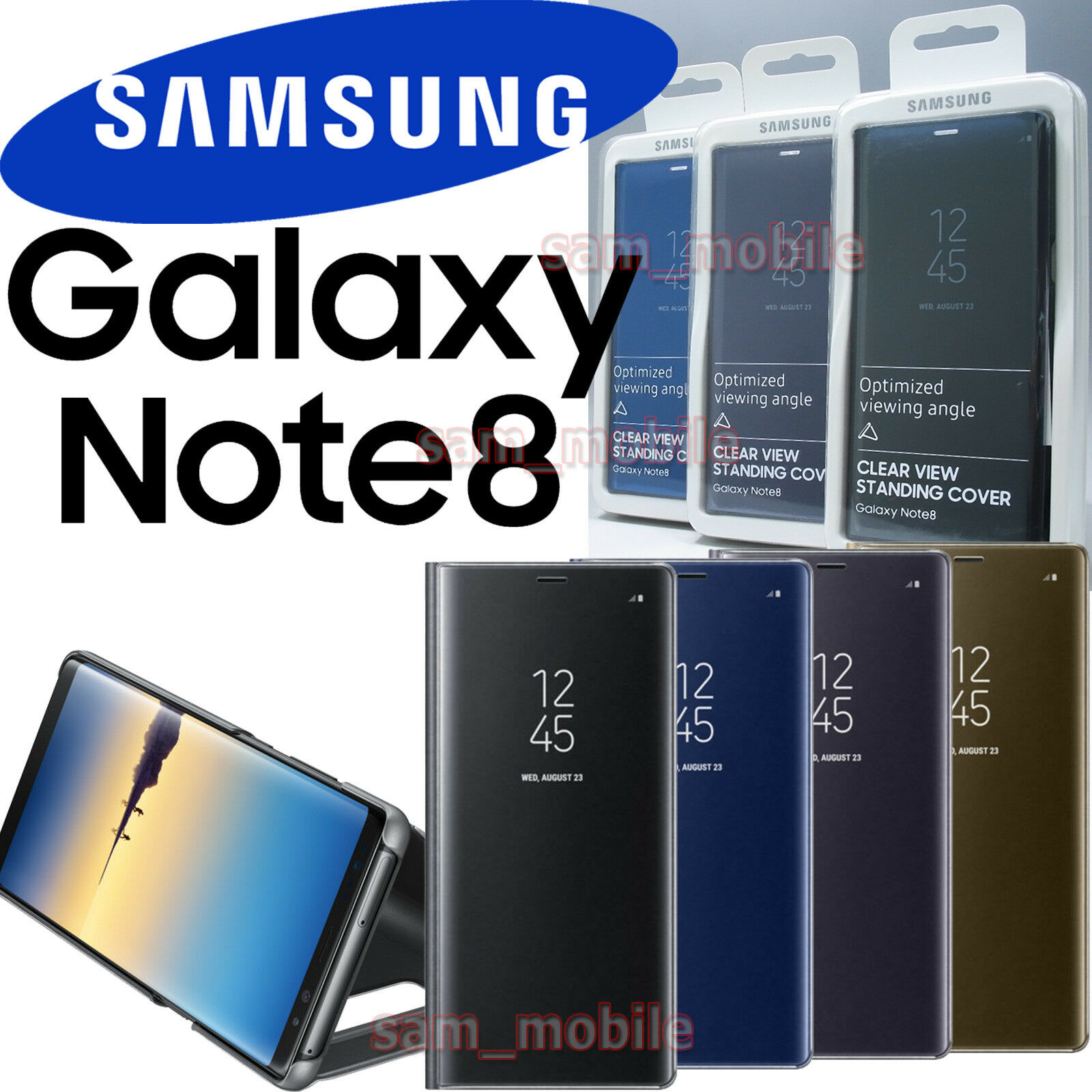 samsung standing cover note 8