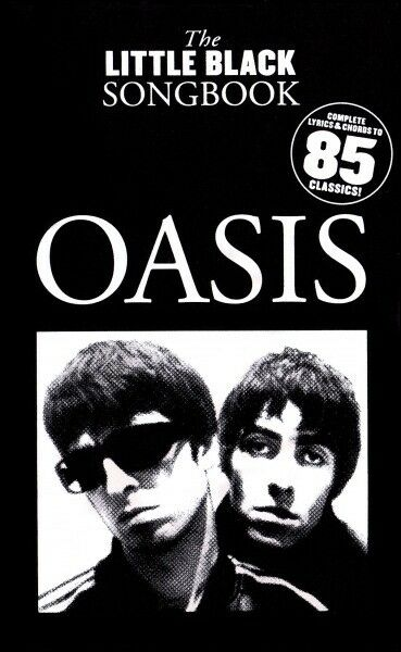 Oasis Little Black Songbook Guitar Chords Lyrics 80 Song Pop Rock