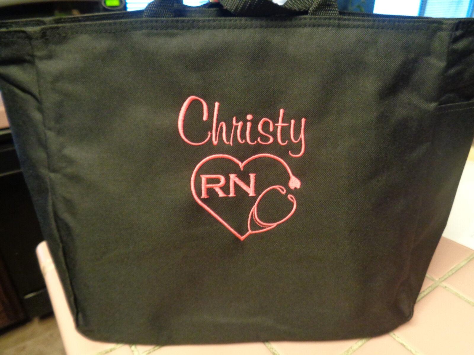 2 Tote Bag Nurse Dr Rn Lpn Md Cna Hospital Medical Office Gift Ma