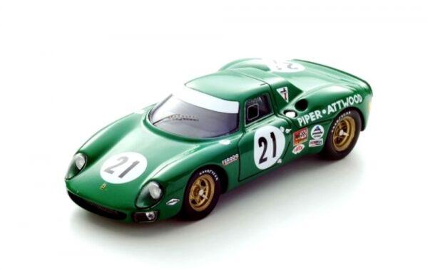 Ferrari 250LM N°21 7ème Du Mans 1968 (D. Piper - R. Attwood)