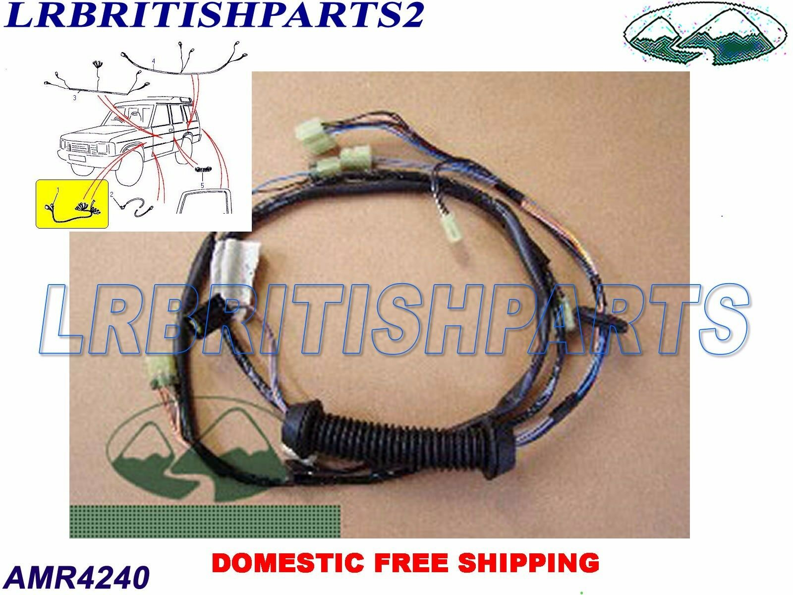 land rover discovery wiring harness toyota avalon fuse box chart land rover  discovery 1 front right door wiring harness loom s l1600 660728943