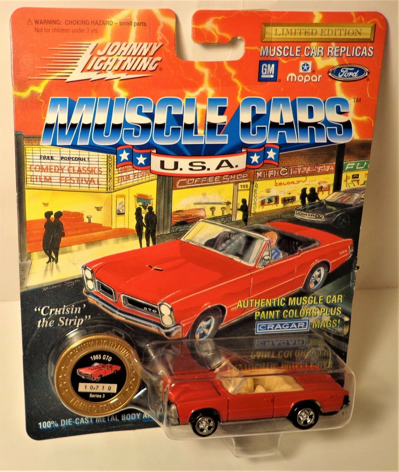 Johnny Lightning Muscle Cars USA 1965 GTO Le Series 3 | eBay