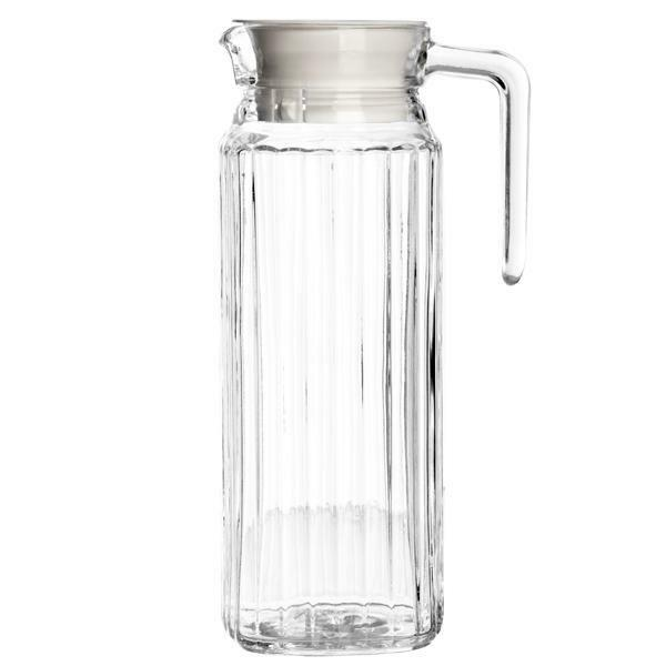 L Kitchen Fridge Glass Pitcher Water Milk