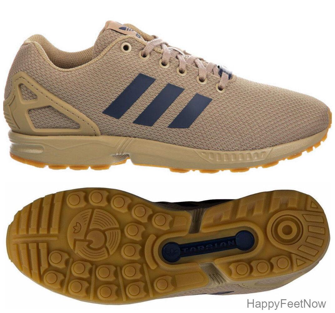 adidas originali zx flusso canapa gomma scarpe da corsa uomo numero 10 uk