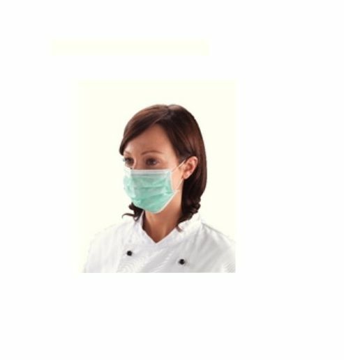Pack of 50 Non Woven Mouth Shields - Face Masks Cleaning Doctor Prevent Germs