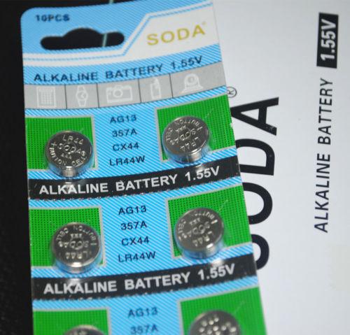 10x AG13 LR44 1.5V Button/Coin Batteries LR 44 A76 357