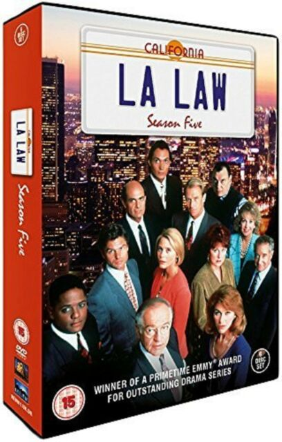 LA LAW Complete Series 5 DVD All Episodes Fifth Season Original UK Release New