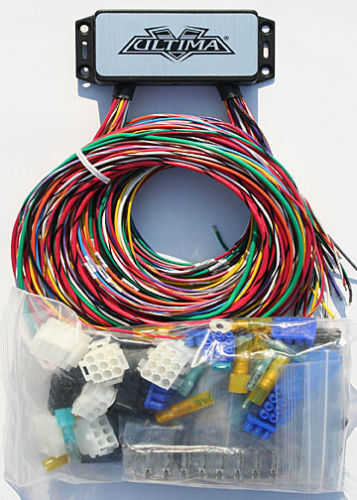 s l640 ultima plus compact electronic wiring harness kit bobber chopper chopper wiring harness at bakdesigns.co