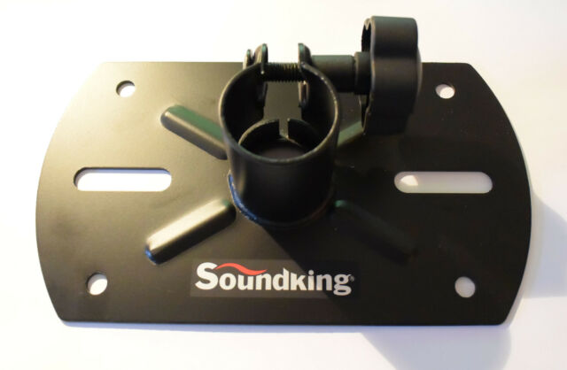 Soundking speaker stand external top hat 35mm / pole mount mounting bracket