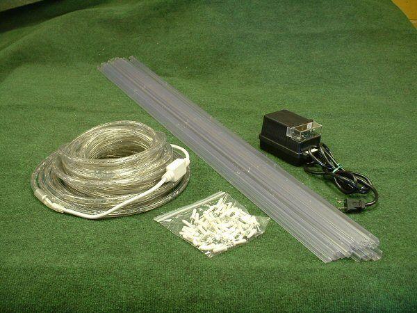 Ez landscape curb lighting kit 50 foot led rope light ez landscape curb lighting kit 50 foot led rope light transformer hardware ebay aloadofball Image collections