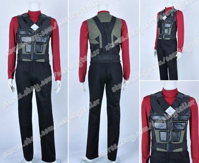 Blade Trinity Cosplay Wesley Snipes Uniform Movie Male Suit Halloween  Costume