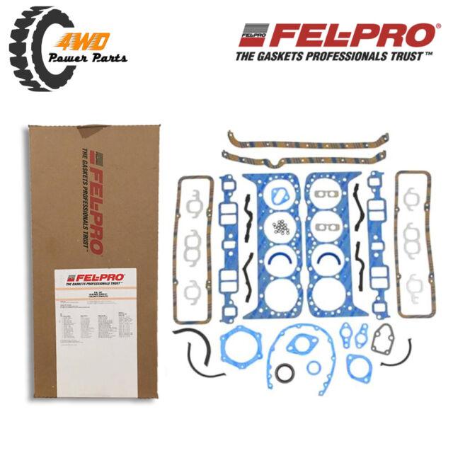 Felpro Engine Gasket Full Set Suits Ford Windsor 260 289 302 (NON EFI)