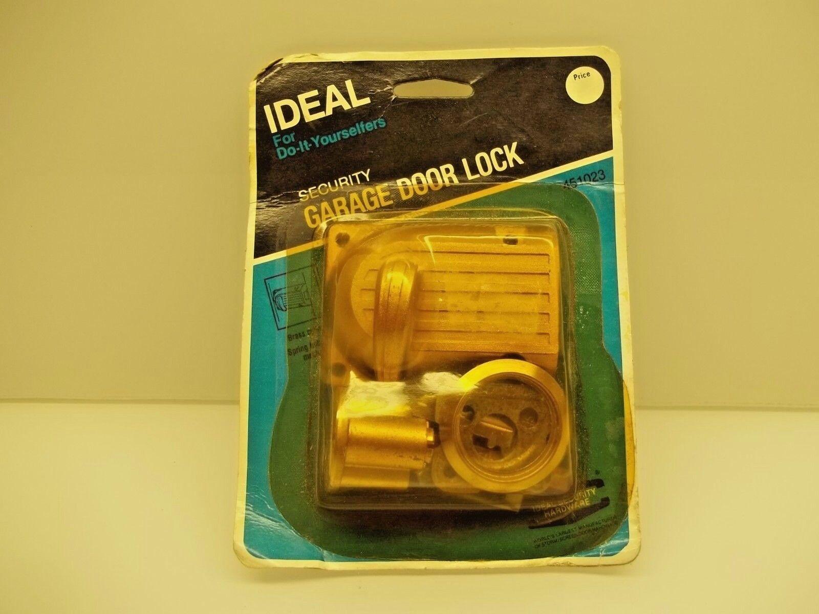 Nos Ideal 451023 Security Garage Door Lock With 2 Keys Ebay