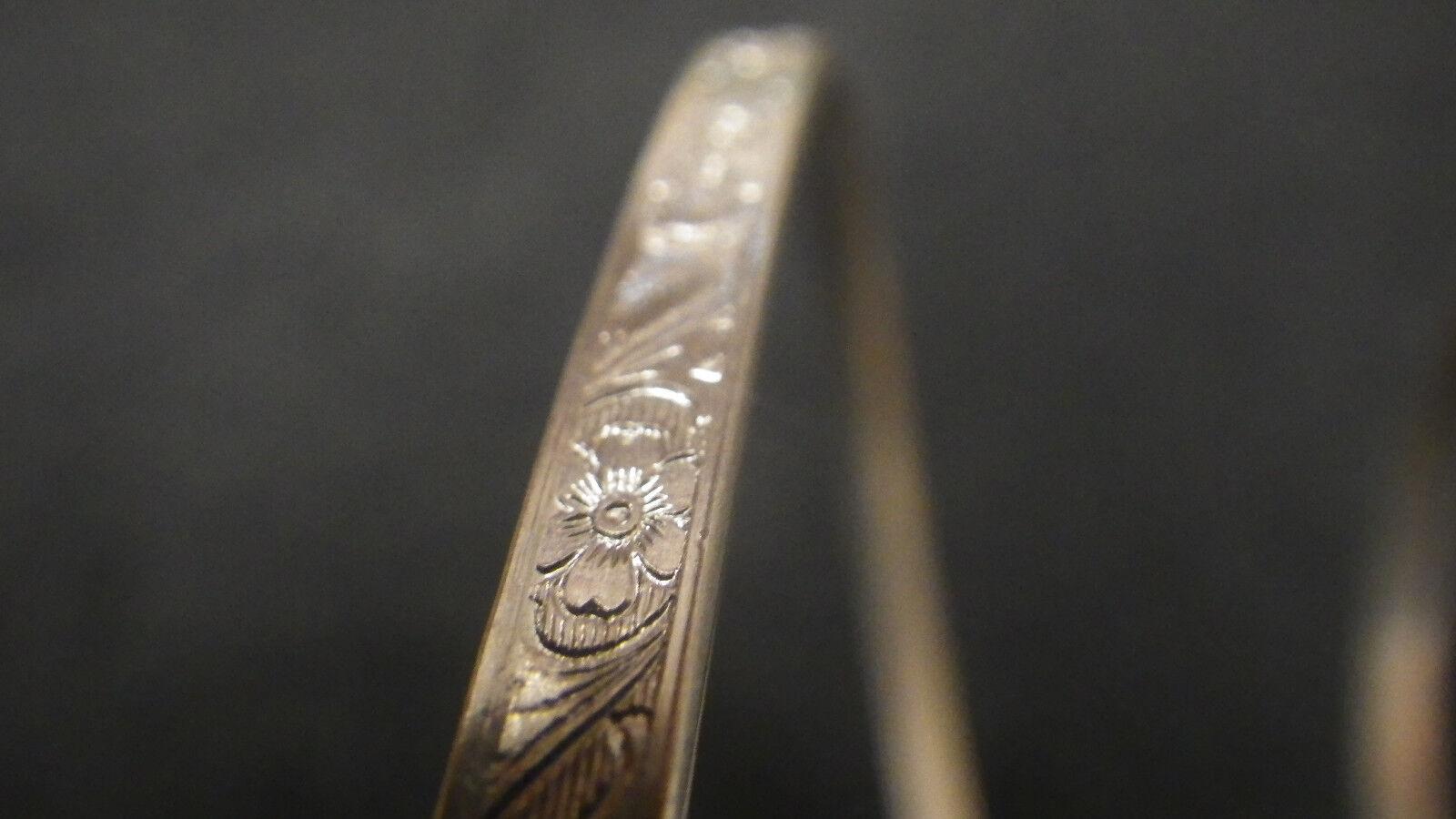 925 Sterling Silver Bezel Strip Wire Floral Pattern 1 Inch 100 ...