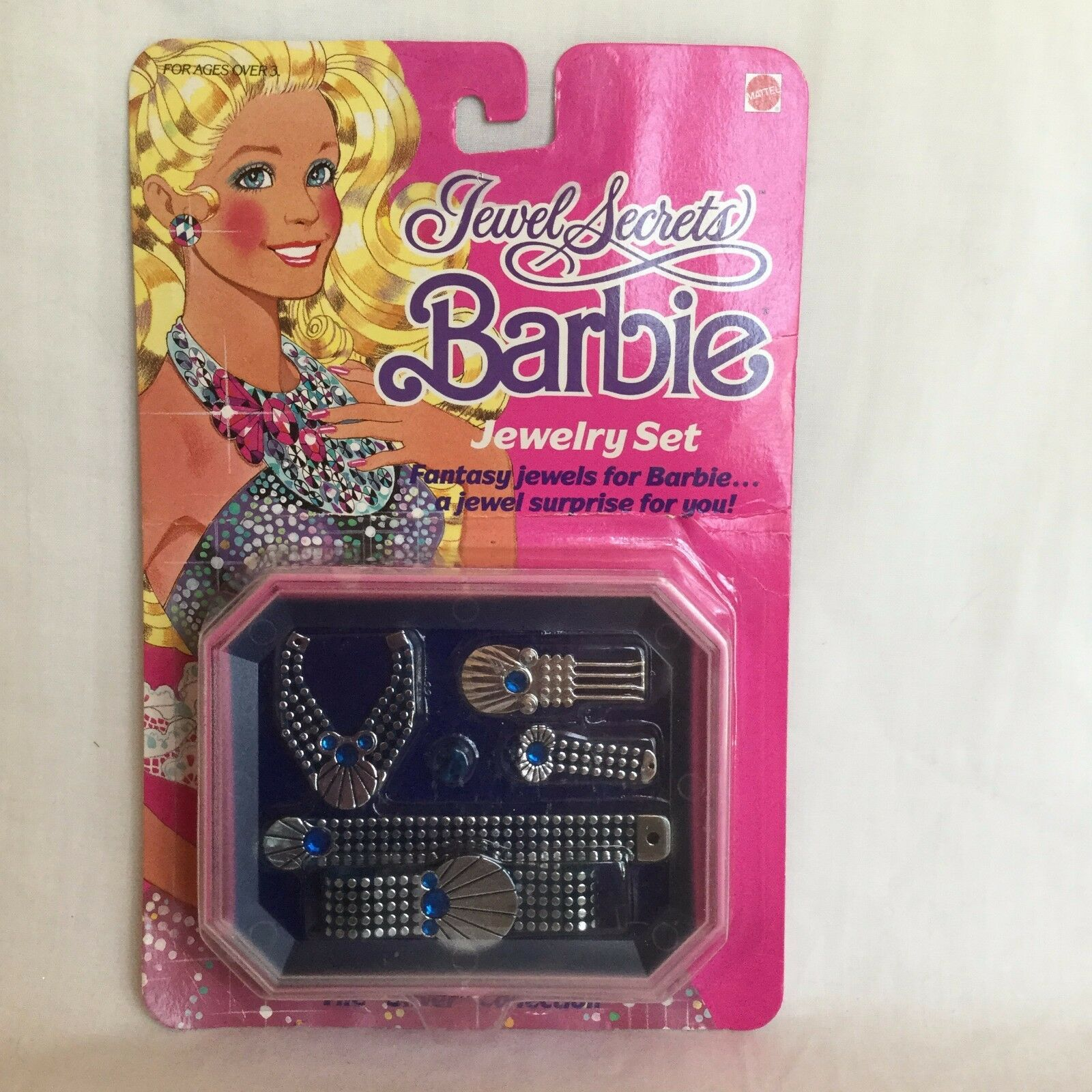 Mattel Barbie JEWEL Secrets Jewelry Set The Silver Collection