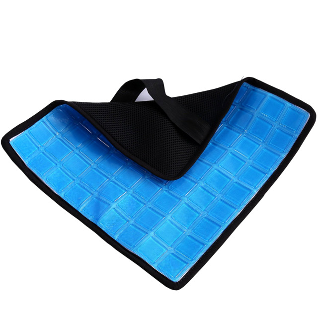 No Sweat Cool GEL Pad for The Back Cushion Car Cooling Seat Auto Bed