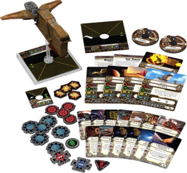 Star Wars X-Wing: Reisszahn Erweiterungs-Pack | Deutsch Neu&Ovp