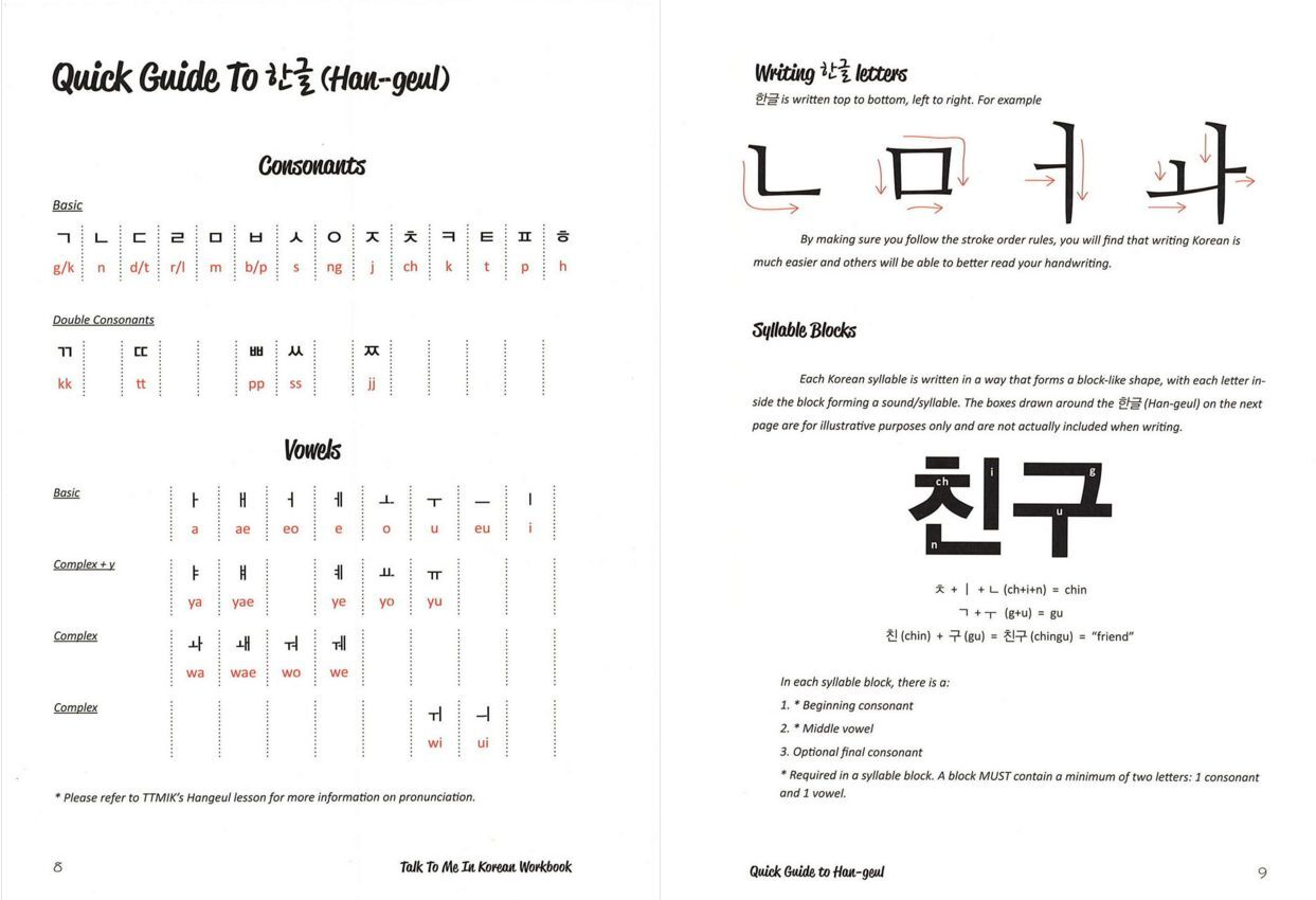 Talk to Me in Korean Workbook Level 1 by TalkToMeInKorean (2013 ...