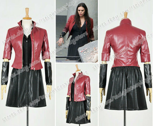 Avengers Age of Ultron Cosplay Wanda Maximoff Scarlet Witch ...