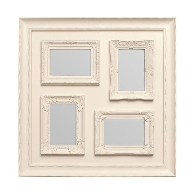 Premier Housewares 53x2.5x53cm 4 Decorative Photo Multi Frame Cream ...