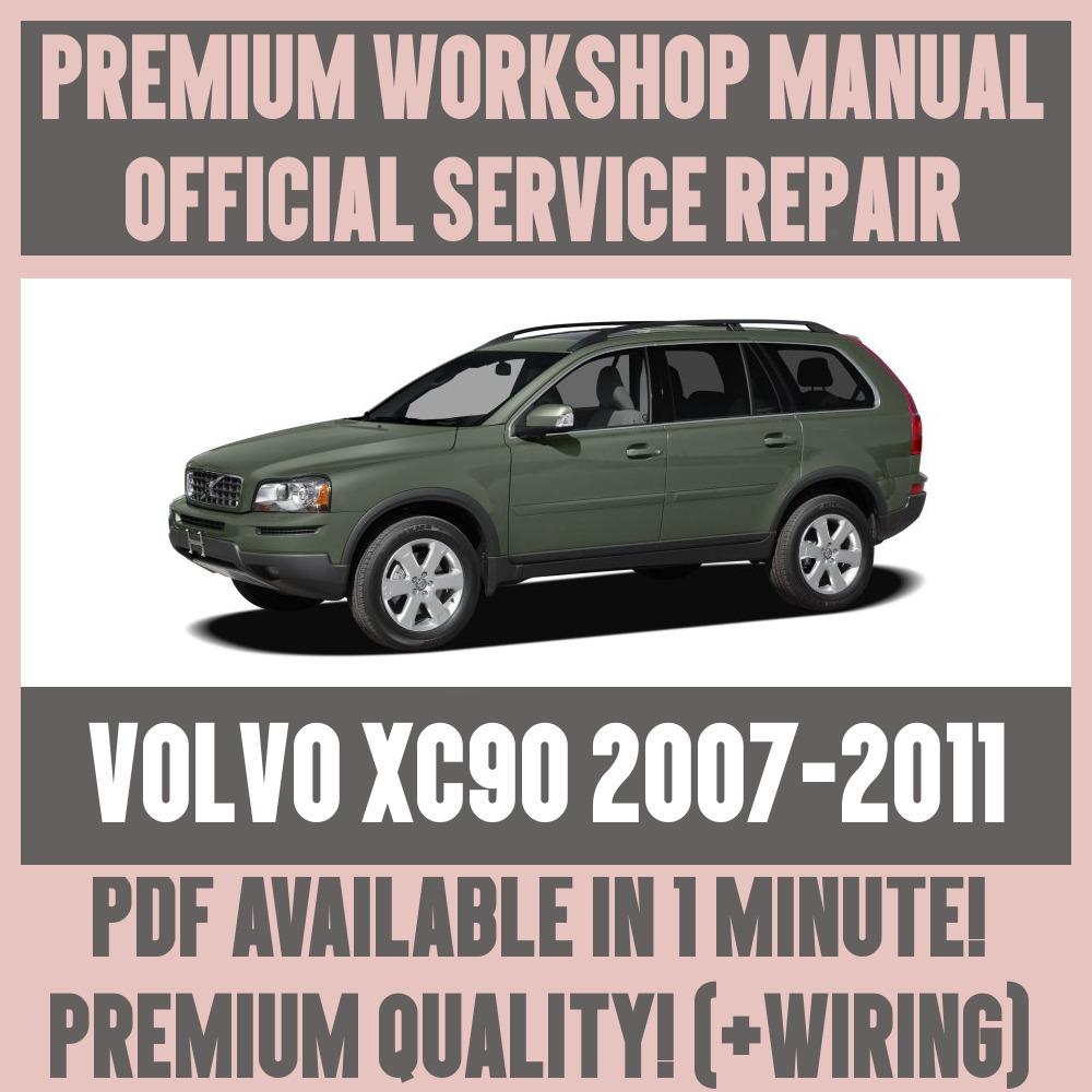 factory workshop service repair manual volvo xc90 2007 2011 wiring rh ebay com 2006 Volvo XC90 2017 Volvo XC90