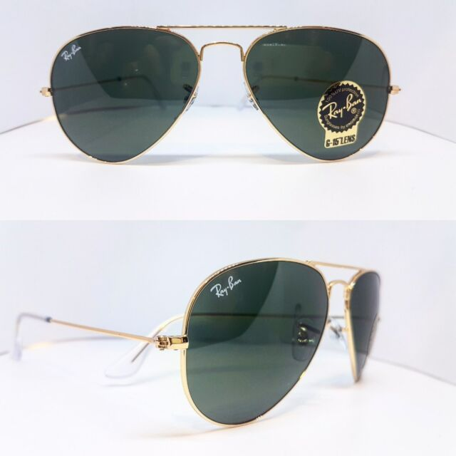 ray ban sonnenbrille rb3025 aviator metal